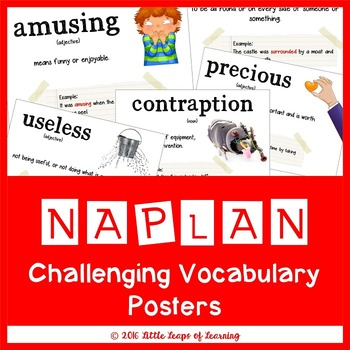NAPLAN Challenging Vocabulary Posters
