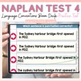 NAPLAN ENGLISH ONLINE GRAMMAR & PUNCTUATION: TEST 4 BOOM D