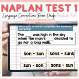 NAPLAN ENGLISH ONLINE GRAMMAR & PUNCTUATION: TEST 1 BOOM D