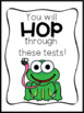 NAPLAN Hop Through The Test Gift Tag