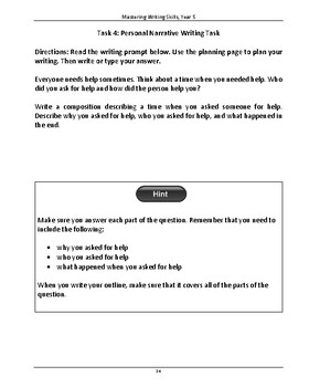 NAPLAN LITERACY SKILLS Mastering Writing Skills Year 5 (Australian Edition)