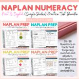 NAPLAN NUMERACY PRINT & DIGITAL TEST PREP BUNDLE