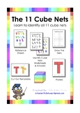 NAPLAN / OLNA - Geometry (3D Shapes) - The 11 Nets Of A Cube
