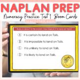 NAPLAN ONLINE NUMERACY DIGITAL TEST 1 BOOM CARDS