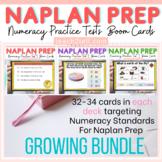 NAPLAN ONLINE NUMERACY DIGITAL TEST PREP BUNDLE (Boom Cards)