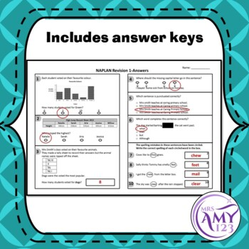 Year 3 NAPLAN Revision Quizzes