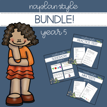 NAPLAN Style Bundle - Year 5 Numeracy