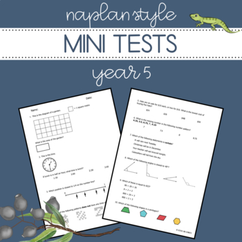 NAPLAN Style Mini Tests - Year 5 Numeracy