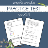 Digital and Printable | NAPLAN Style Practice Test | Year