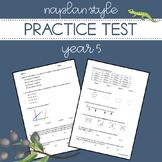 NAPLAN Style Practice Test - Year 5 Numeracy
