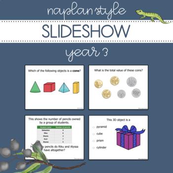 NAPLAN Style Slideshow - Year 3 Numeracy