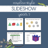 NAPLAN Style Slideshow - Year 3 Numeracy