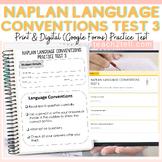 NAPLAN TESTING: LANGUAGE CONVENTIONS: PRACTICE TEST 3 PRIN
