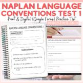 NAPLAN TESTING: LANGUAGE CONVENTIONS: PRACTICE TEST 1 (PRINT)