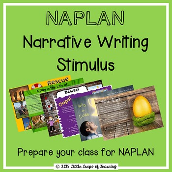 NAPLAN Writing Stimulus for Narrative