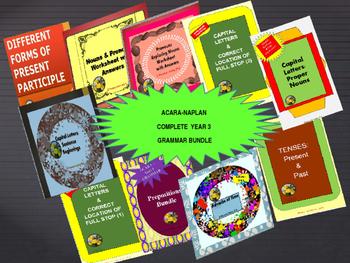 NAPLAN Year 3 Complete Grammar Bundle