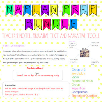 NAPLAN style preparation bundle Grade 5