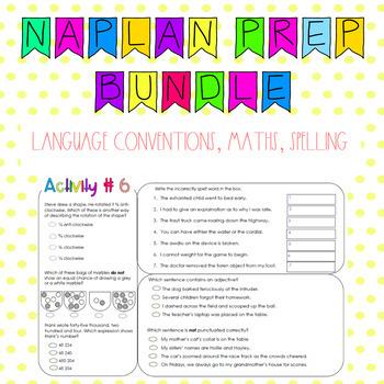 NAPLAN style preparation Grade 5