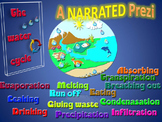 NARRATED water cycle prezi