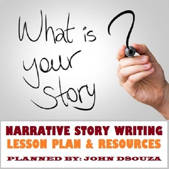 NARRATIVE STORY WRITING: LESSON & RESOURCES