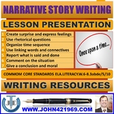 NARRATIVE STORY WRITING LESSON PRESENTATION