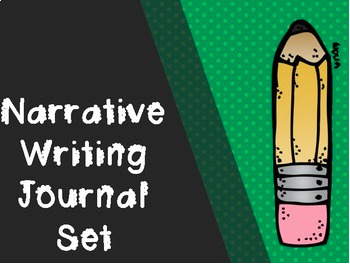 NARRATIVE WRITING JOURNAL PACK (4 JOURNAL SETS)