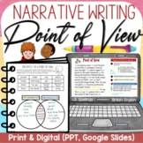 NARRATIVE WRITING: POINT OF VIEW