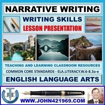 NARRATIVE WRITING: LESSON PRESENTATION