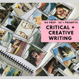NARRATIVE WRITING PROMPTS - Inspiring critical + creative