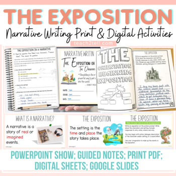 NARRATIVE WRITING: THE ORIENTATION/THE EXPOSITION