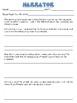 NARRATOR and POV - Reading Literature Toolkit - RL6.6