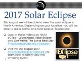 NASA 2017 Solar Eclipse Resources