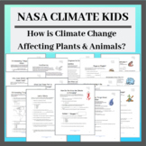 NASA Climate Kids: How Climate Change is Affecting Plants & Animals