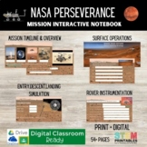 Mission to Mars: Perseverance Rover Interactive Notebook -