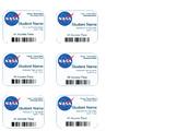 NASA Name Badges: Editable