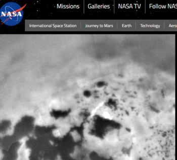 NASA web quest: Mars