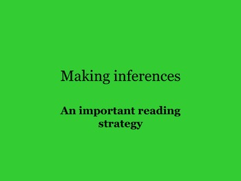 NAT GEO SCIENCE NON-FICTION CLOSE READ INFERENCING FOR 5TH