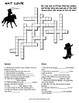 NAT LOVE CROSSWORD PUZZLE (Famous African American Cowboy)