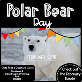 NATIONAL POLAR BEAR DAY ACTIVITIES  COMPREHENSIVE SET OF LEARNING & FUN COMBINED
