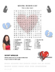 NATIONAL WEAR RED DAY Word Search Puzzle - Stroke, Heart, Prevention