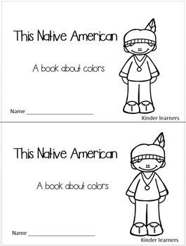 NATIVE AMERICAN COLORS GUIDED READING BOOK