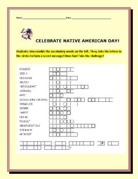NATIVE AMERICAN DAY: CELEBRATE!