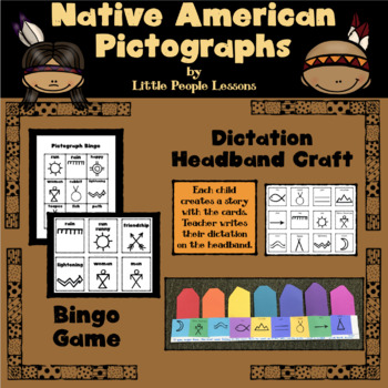 Native American Pictographs Worksheets Teaching Resources