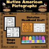 THANKSGIVING: NATIVE AMERICAN PICTOGRAPH ACTIVITIES for preschoolers/kinders