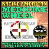 NATIVE AMERICAN MEDICINE WHEEL