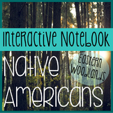 NATIVE AMERICANS- Social Studies Interactive Notebooking- Eastern Woodlands
