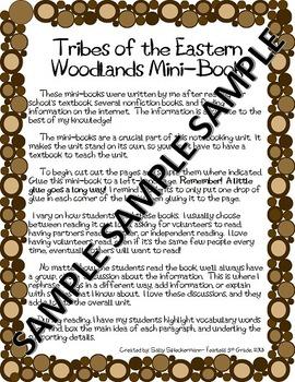 NATIVE AMERICANS- Social Studies Interactive Notebooking- Eastern Woodlands