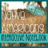 Interactive Notebooking - NATIVE AMERICANS - Social Studie