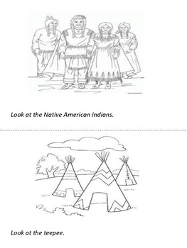 NATIVE AMERICANS - pattern book
