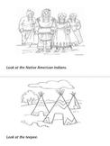 NATIVE AMERICANS - pattern book